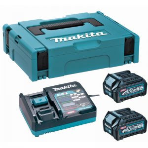 Sada Makita 2xBL4040 Li-ion XGT 40V/4,0Ah + nabíječka DC40RA 191J97-1