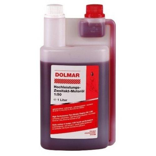 2-taktní motorový olej 1l + dávkovací láhev Dolmar 980008112
