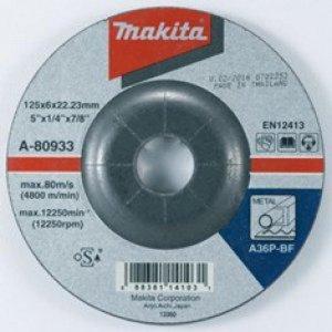 Brusný kotouč 125x6x22mm ocel Makita A-80933