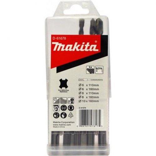 6dílná sada vrtáků SDS-plus Makita D-61678
