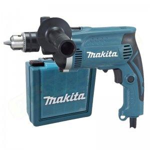 Příklepová vrtačka + kufr Makita HP1630K