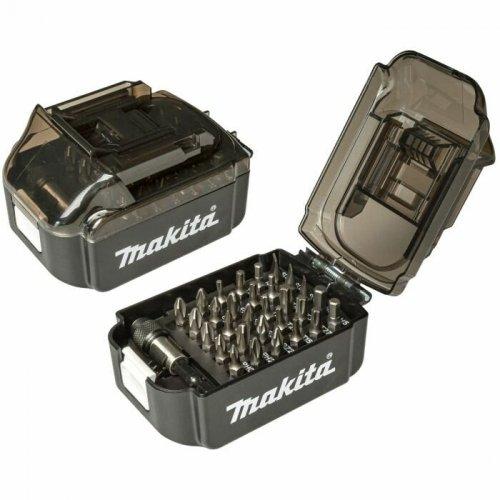 Sada bitů 31 ks ve tvaru akumulátoru Makita E-00022