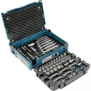 Sada klíčů, ořechů a bitů 120 ks Makpac Makita E-08713